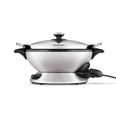 Breville The Hot Wok and Steam Electric Wok Brand New