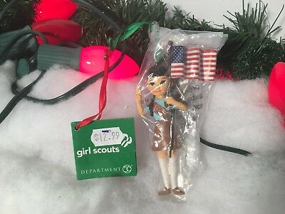 New Department 56 Girl Scouts Christmas Ornaments #4052749 4""