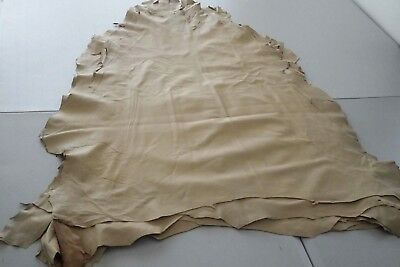 Beige Sheepskins hides Garment leather Genuine Sheep/Lamb skins