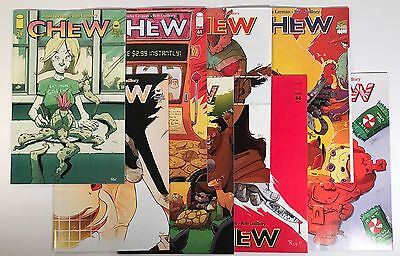 Chew Comic Book 8 Issue Run Lot #39 - #46, Image 2014/2015