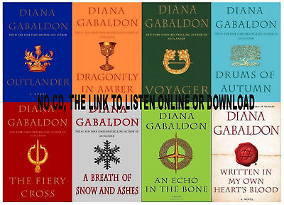 8 Audiobooks The Outlander Complete Series by Diana Galbandon mp3 + digital book