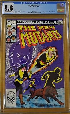 New Mutants #1 Cgc 9.8 Nm/m 1St Key Comic Book Appearance Movie Tv Show 87 98