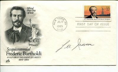 Lee Iacocca Chrysler CEO Ford Mustang Designer Signed Autograph FDC