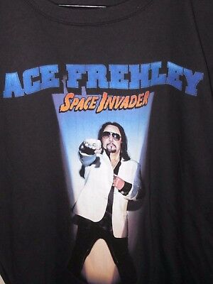 Kiss Ace Frehley T-Shirt Size  X Large Space Invader Australian Tour 2015 New