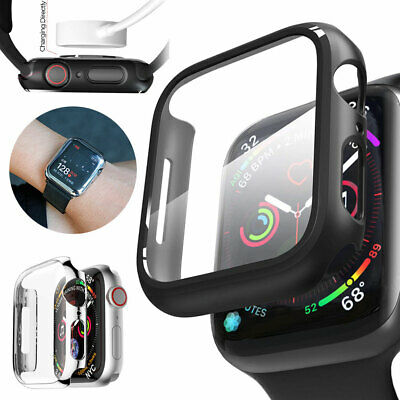 Body Snap On Case Cover +Screen Protector For Apple Watch Series 3/2/1 IWatch