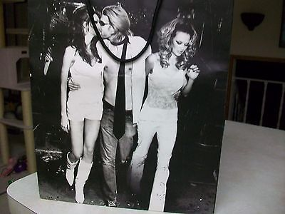 Guess Paper Shopping Bag B&W Collector RARE!