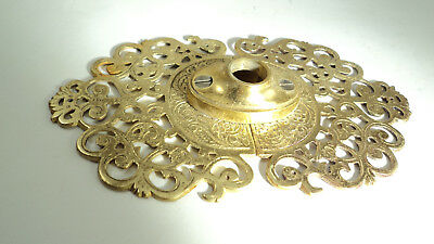 "Very Cool Oriental solid brass decorative door plate 3 piece ""C"""
