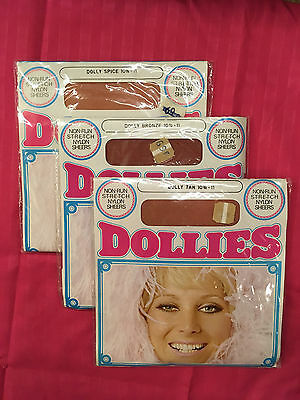 Vintage stockings Dollies 3 pairs