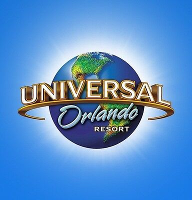 "Universal Orlando - Florida - Travel - Souvenir - 4""x4"" Fridge Magnet - #1"