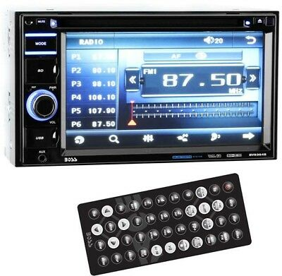 Boss BV9364B 6.2-Inch 2-DIN In-Dash DVD/MP3 Bluetooth Touchscreen Receiver