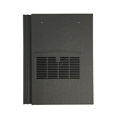 Roof Tile Vent To Fit Marley Modern, Redland Mini Stonewold | Grey | 10 Colours