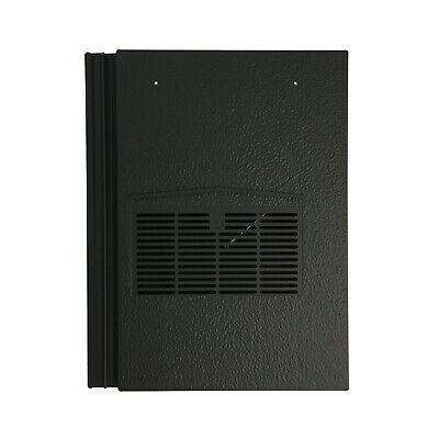 Roof Tile Vent To Fit Marley Modern, Redland Mini Stonewold | Black | 10 Colours