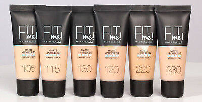 Maybelline Fit Me Matte & Poreless Foundation -8 shades available-