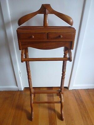 Traditional Wooden Valet Stand