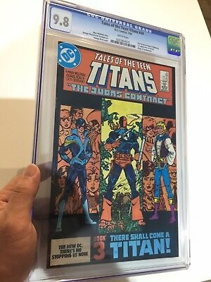 Tales Of The Teen Titans #44 CGC 9.8 White Pages 1st Nightwing