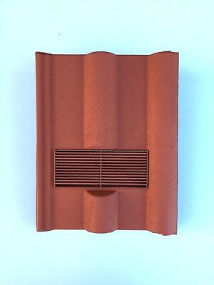 Roof Tile Vent To Fit Marley, Redland 50 Double Roman | Terracotta | 8 Colours