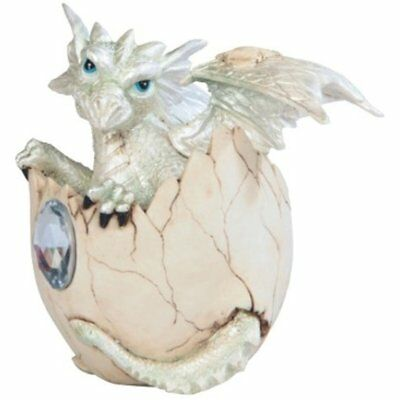 George S. Collectible Figurines Chen Imports SS-G-71472 White Baby Dragon With