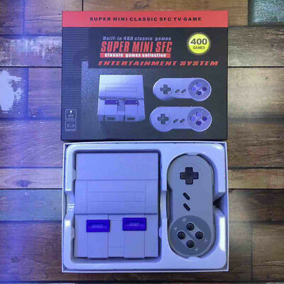 Hotsale Classic Game Console Built-in 400 Games with 2 Controllers Xmas Gifts