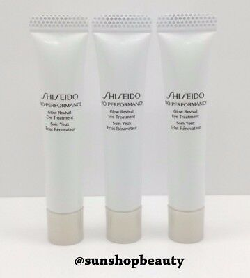 Shiseido Bio Performance Glow Revival Eye Treatment 5ml (3pcs Set)