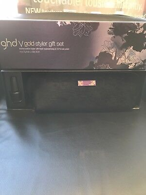 GHD BRAND NEW V Gold Styler Gift Set Noctume Collection
