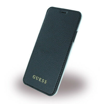 Guess - IriDescent - Book Cover - Apple iPhone X - Schwarz