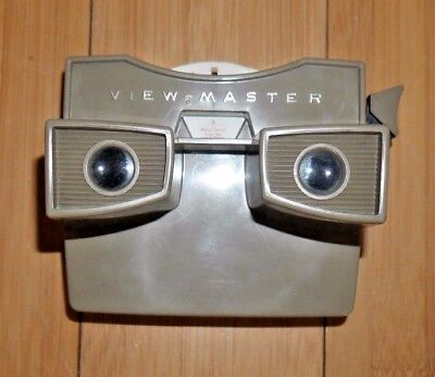 VIEWMASTER VIEWER & PREVIEW REEL VINTAGE 1960's MODEL G SAWYERS  A113