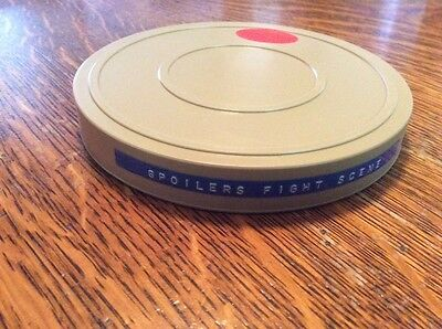 "Reel to Reel Movie-MINT CONDITION-5"" PLASTIC REEL AND CASE W/8MM REEL & MOVIE"