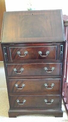 Small Quality Mahogany Bureau, lovely condition, offers? Can deliver locally.
