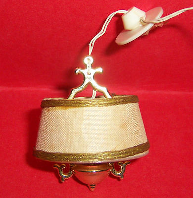 VINTAGE 1970's LUNDBY DOLLS HOUSE ORNATE CEILING LIGHT