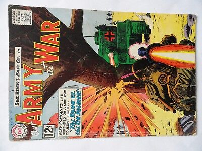 OUR ARMY At WAR #118 (1962)...SGT.ROCK EASY CO.