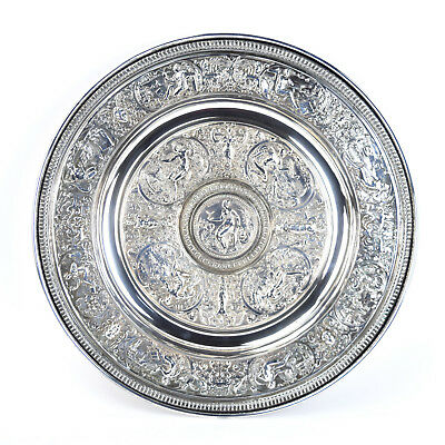 "Victorian Silverplate ""Temperantia"" Basin Inspiration for Wimbledon Trophy"