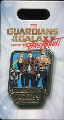 DCA Guardians of The Galaxy Mission: Breakout Characters Logo Disney Pin