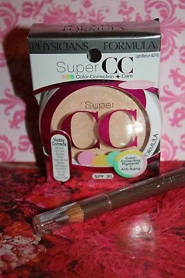 Physicians Formula Super CC Color-Correction + Care Powder SPF 30 L/M 6216