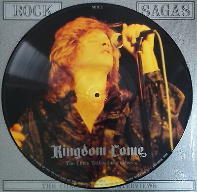"""KINGDOM COME - Limited Edition Picture Disc""""ROCK SAGAS"""""""