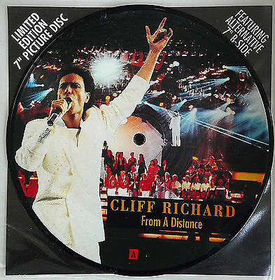 """CLIFF RICHARD - 7"""" Limited EDITION Picture Disc"""