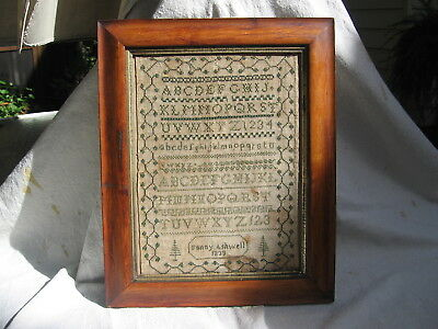 Antique Early-19th Century Sampler dated 1833