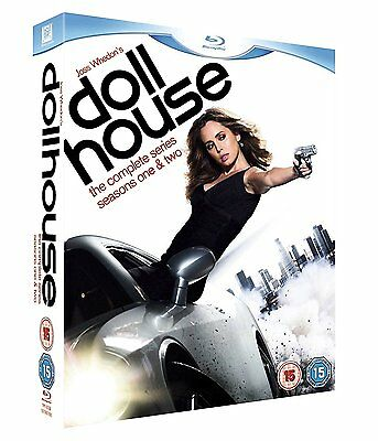 Dollhouse - The Complete Series [Seasons 1 + 2] (Blu-ray, 6 Discs) *NEW/SEALED*