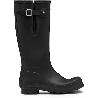 Hunter Original Side Adjustable Mens Boots Wellies - Black All Sizes