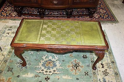 Beautiful Antique English Queen Ann  Mahogany Coffee Table / Chest Table.