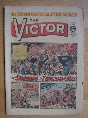 THE VICTOR COMIC # 9   April 22nd 1961