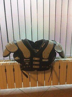 american football Shoulder Pad Z-Cool WR/DB/QB