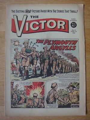 THE VICTOR COMIC # 6   April 1st 1961