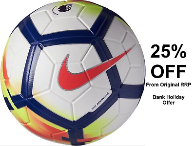 Nike MAGIA Premier League Official Match Football Size 5 - White 55% OFF