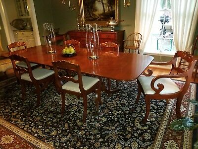 Willett Cherry Dining Room Table With 6 Chairs