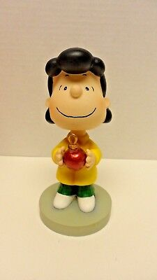 Peanuts Holiday Collectible Bobbin' Heads Lucy #8297