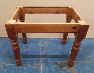 Farmhouse table base only for spares or repairs