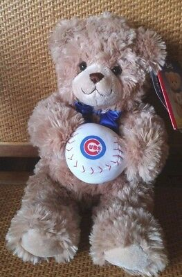 Chicago Cubs Build A Bear Bob Beary Limited Edition 2006 Baseball Park Giveaway