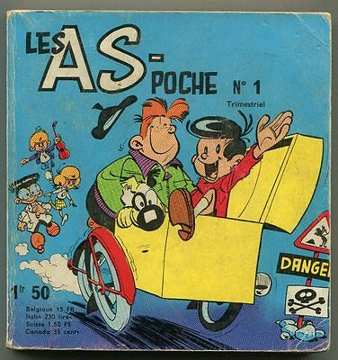Les As Poche N°1 Avril 1967