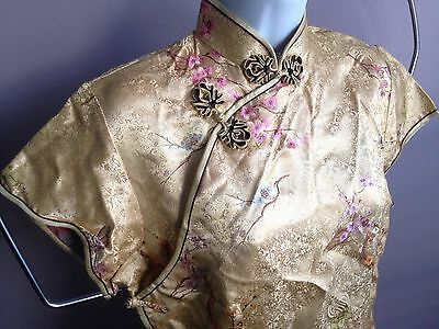 NWT Jan Hua cheongsam style blouse - size 38 (small) Asian Cantonese Chinese