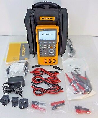 Fluke 754 Documenting Process Calibrator with HART / Case, Leads, Probes